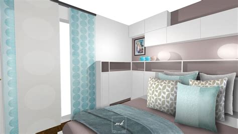 chambre adulte bleu deco chambre parentale bleu
