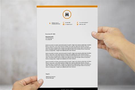 modern letterhead template  ms word