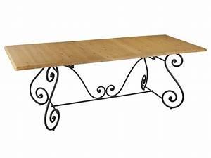 Table En Fer Forgé : table en fer forg pour salle manger meuble et d coration marseille mobilier design ~ Teatrodelosmanantiales.com Idées de Décoration