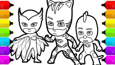 How To Draw Catboy, Gekko And