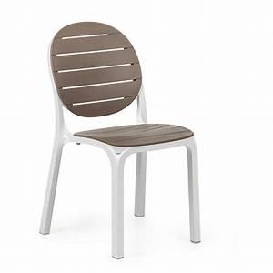 Chaises De Jardin En Soldes : chaise jardin moderne design nardi erica zendart design ~ Teatrodelosmanantiales.com Idées de Décoration