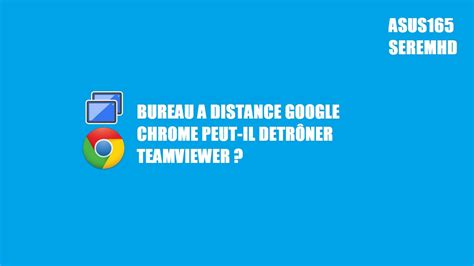 bureau a distance chrome