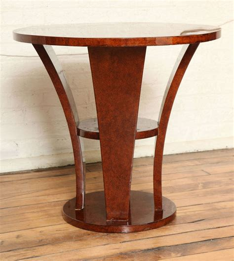 art deco side table art deco side table gueridon at 1stdibs