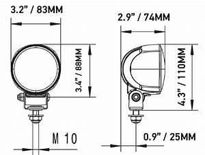 Hella Module 70 Led Gen Iv Work Lamp