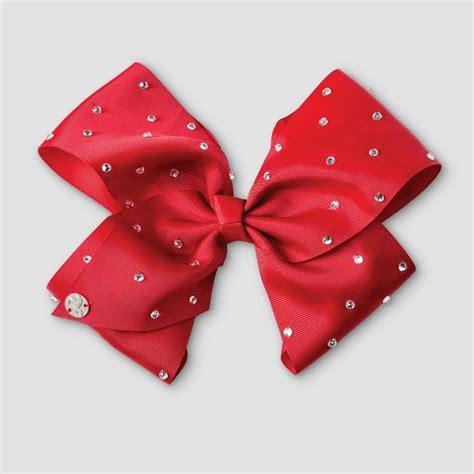Girls' Jojo Siwa Bow Hair Clip  Red Target