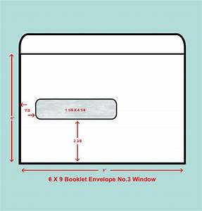 6 x 9 booklet window envelope no 3 window quality With 6x9 envelope template