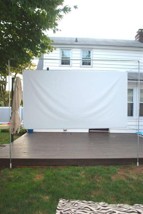 diy outdoor  screen  stand effortless style blog