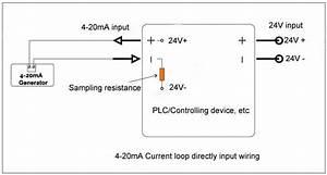 2-wire 4-20ma Loop Simulator Signal Generator