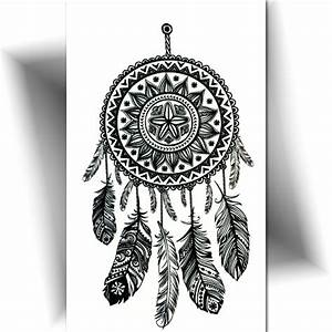 Tatouage Attrape Reve : petit tatouage temporaire attrape r ve tatouage ph m re ~ Carolinahurricanesstore.com Idées de Décoration
