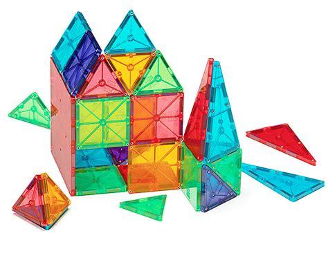 magna tiles 174 clear colors 100 piece set magnatiles 174