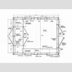 Gable Shed Plans Part Step Diy 10 X Modern House Roof