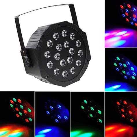 led stage lighting par can 18 rgb led stage light disco dj bar effect up
