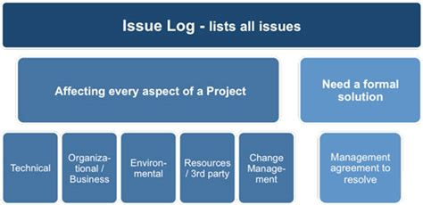 Project Issues Log Template