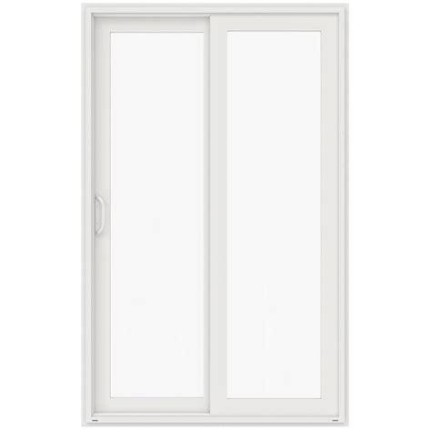 jeld wen 60 in x 96 in v 4500 white prehung right