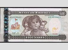 Eritrea 5 Nakfa Note 1997World Banknotes & Coins Pictures