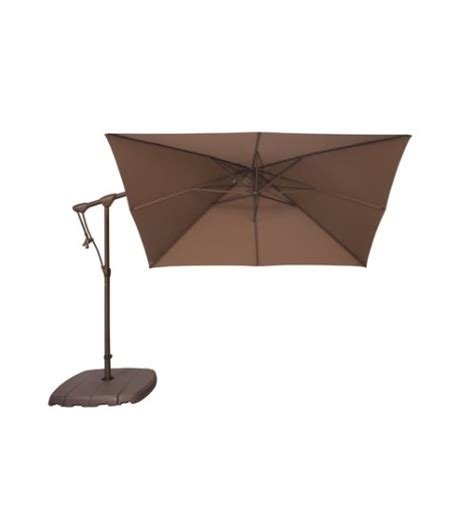 treasure garden 8 5 ft square ag19sq cantilever umbrella