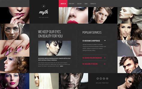big salon beauty barber site template hair salon website template 46078 by wt website templates