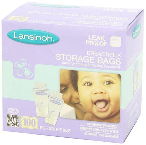 Lansinoh Breast Milk Storage Bags Health And Personal