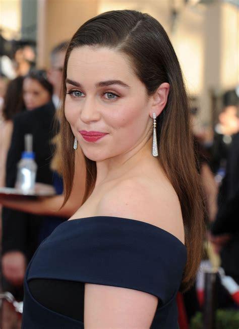 Emilia Clarke – 2015 SAG Awards in Los Angeles • CelebMafia