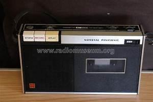 National Panasonic Cassette 222 Ac  Battery R