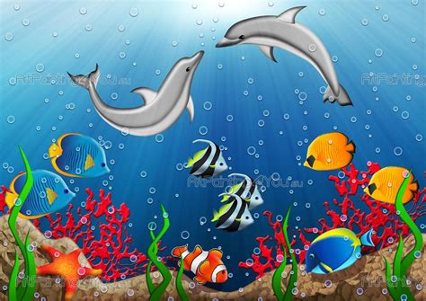 wall murals  kids fantastic world artpaintingyoueu