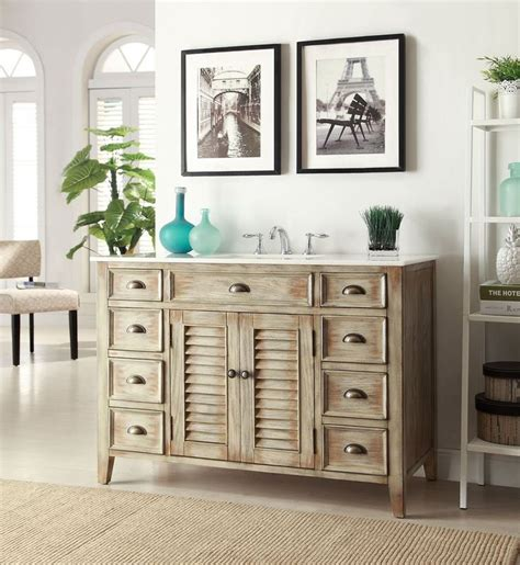 Cottage Style Bathroom Vanities Cabinets by 17 Best Images About Distressed Bathroom Vanities On