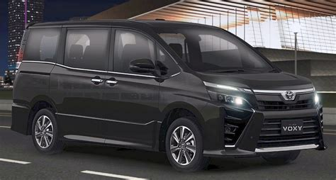 Toyota Voxy Backgrounds by Giias 2017 Toyota Voxy Third Facelift Debuts
