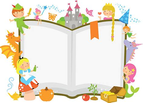 Top 60 Fairy Tale Book Clip Art, Vector Graphics And