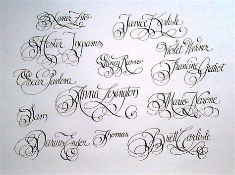 Tattoo Fonts Cursive Generator