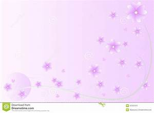 Purple Flowers Background Stock Vector - Image: 47041013