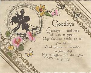 10 m 63 goodbye card hallmark when you care enough With farewell scrapbook template