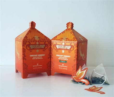 Limited Edition Packaging for Bigelow Tea Company on Behance
