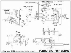 Silvertone 1472 Wiring Layout