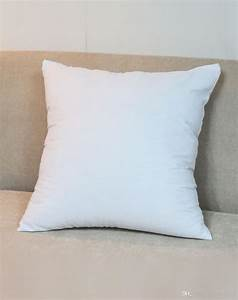 plain white 250gsm 8oz cotton canvas cushion cover with With cheap plain white throw pillows