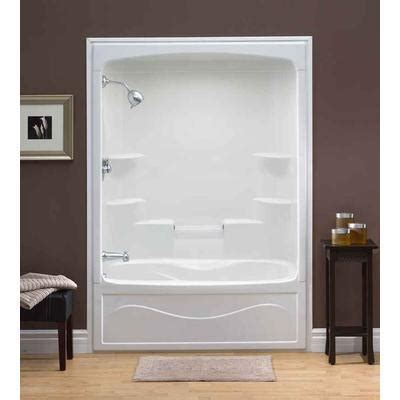 Air Jet Tub Shower Combo by Liberty 60 Inch 1 Acrylic Tub And Shower Combination
