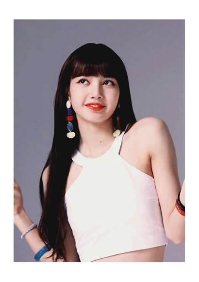 Lisa Blackpink Manoban Head Heels Pink Kpop