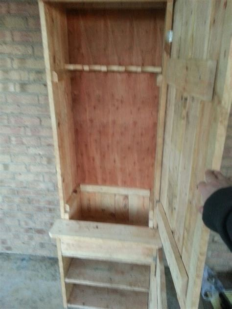 pallet wood gun cabinet plans pallet gun cabinet tactical pinterest