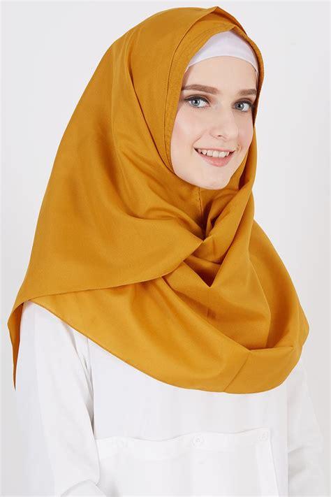 sell pasmina instan nihara mustard instant hijab