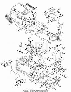Mtd 13w277ss231 Lt 4200  2015  Parts Diagram For Hood S Style