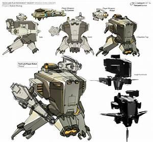 CHRIS J. ANDERSON'S Latest Concept Art: CHARACTERS - ROBOTS