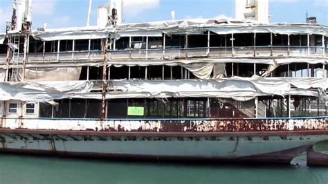 Old Boblo Boat by Bob Lo Boats Sit Idle And Forgotten Youtube