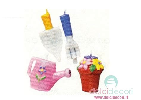 Candele Per Compleanno Candeline Attrezzi Da Giardino Per Compleanno
