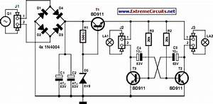 how to build led bike light circuit project circuit diagram With police lights an led project