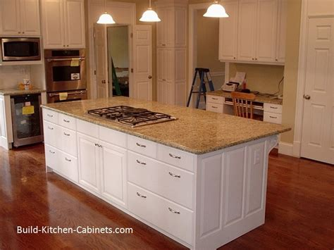 how do you build a kitchen island build kitchen cabinets yes you really can do this