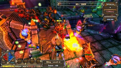 dungeon defenders   full game speed
