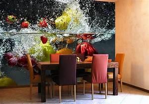Fototapete Für Küche : fototapete erfrischendes obst sch ne deko f r die wand von k l wall art wall ~ Markanthonyermac.com Haus und Dekorationen