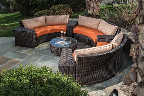 Furniture Outdoor Patio by Creative Homescapes Amalfi Collection Wicker Set