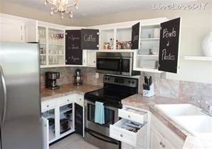 ideas for kitchen cabinets makeover livelovediy the chalkboard paint kitchen cabinet makeover