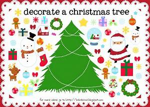 christmas printables for kids the 36th avenue With christmas tree decorations printable