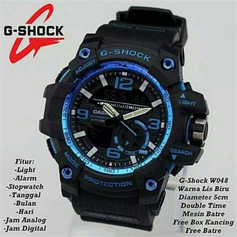 turun harga free box baterai jam tangan pria gshock